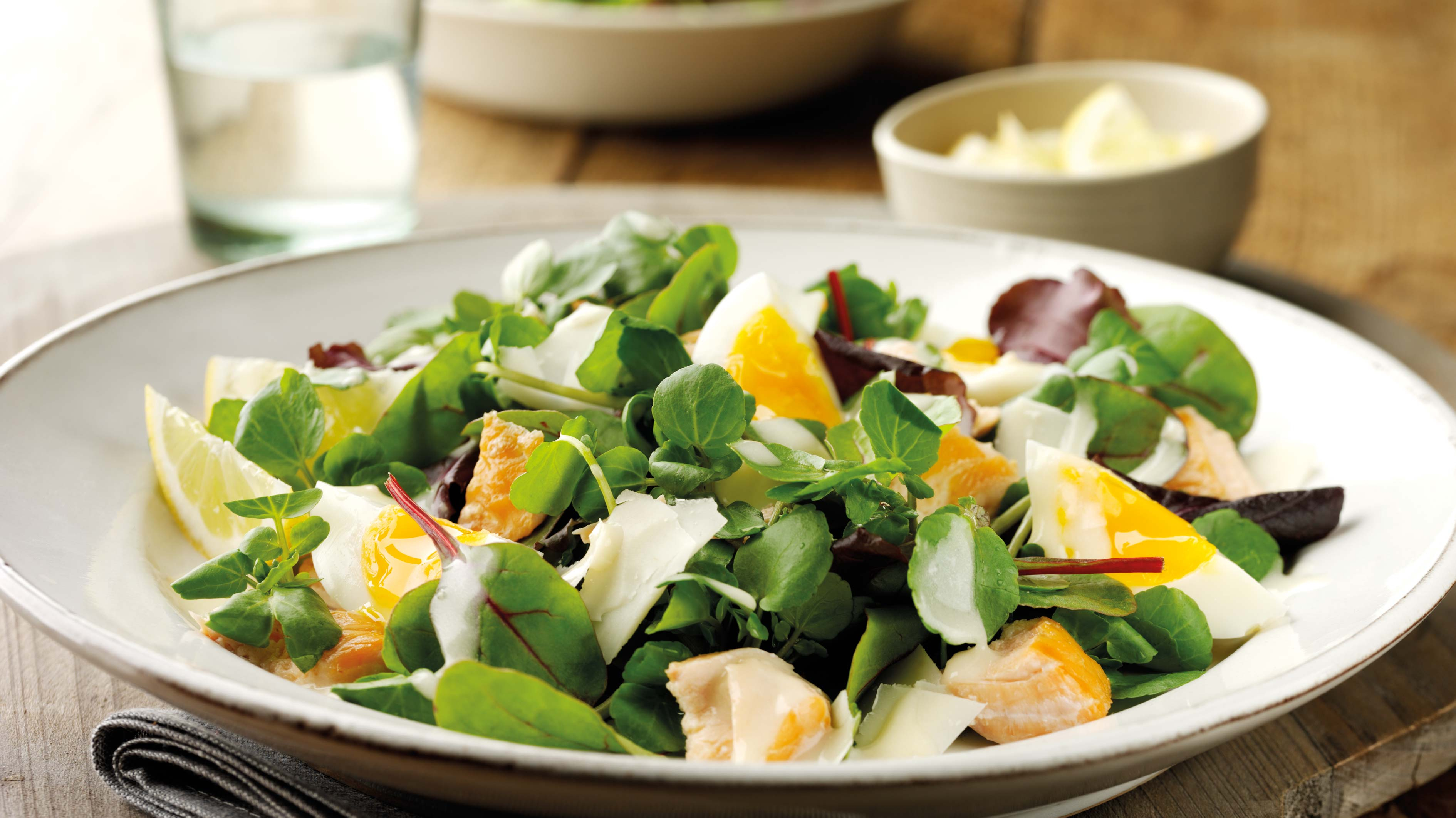 Video recipe: Kiln Roasted Salmon & Watercress Salad